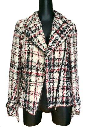 Zara Woman Wollen Jack veelkleurig Wol
