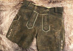 Pantalon court brun