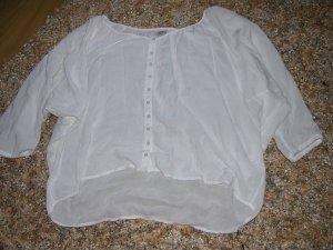 Kurze Tunika Bluse von Esprit, weiß, Gr, 34, wie neu!