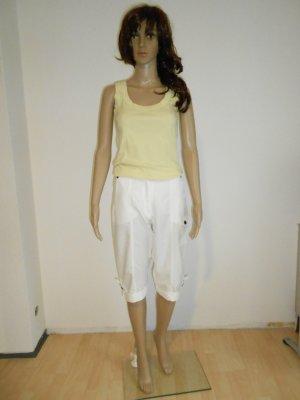 Kurze weiße Hose Größe 36