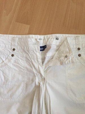 Kurze weiße Hose von Cecil in Größe 31