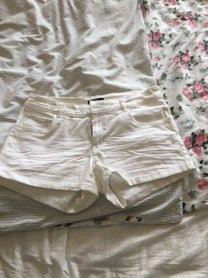 Kurze weiße Hose von H&M