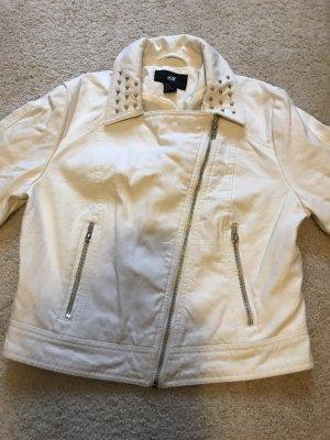 Kurze, weiße Jacke von H&M