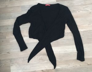 Wraparound Blouse black