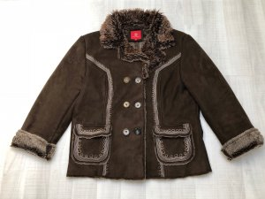 Wissmach Short Coat dark brown