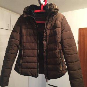 Zara Veste d'hiver brun