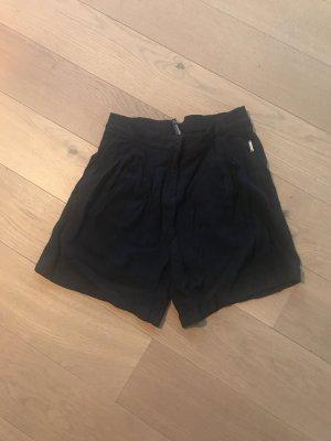 Woolrich Pantalone corto blu scuro Viscosa