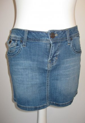 Kurzer 5-Pocket-Jeansrock