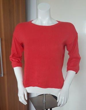 kurzer Baumwoll Pullover mit 3/4 Arm von Vero Moda