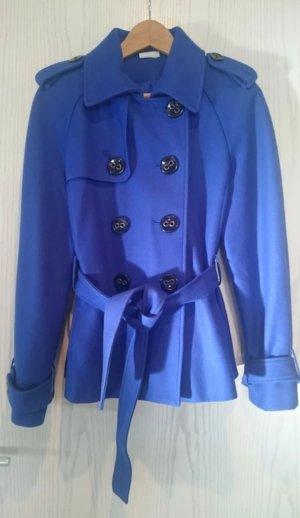Kurzer blauer Mantel von Georgiou