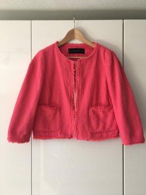 Kurzer Blazer von Zara in Größe L