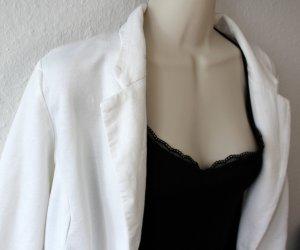 American Rag CIE Jersey Blazer natural white cotton