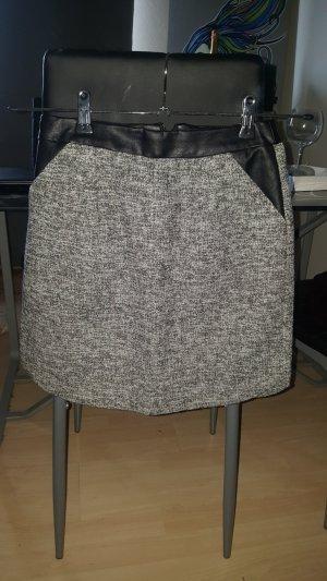 Amisu Minifalda gris