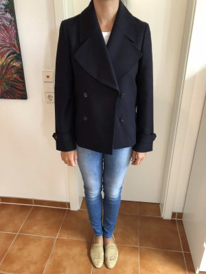Hugo Boss Cappotto corto blu scuro