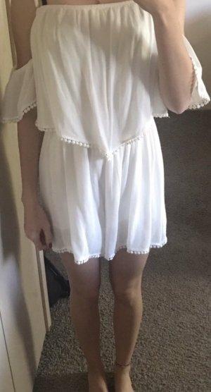 Amisu Robe de plage blanc
