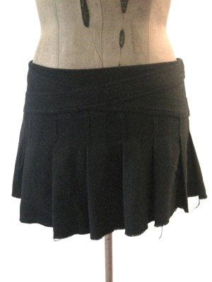 Kurzer Faltenrock von Topshp mit Wolle, Gr. 40