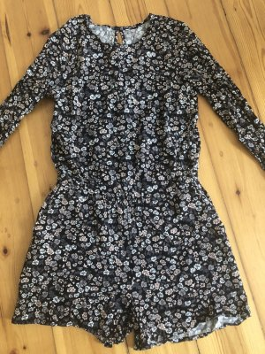 H&M Jumpsuit zwart-grijs-bruin
