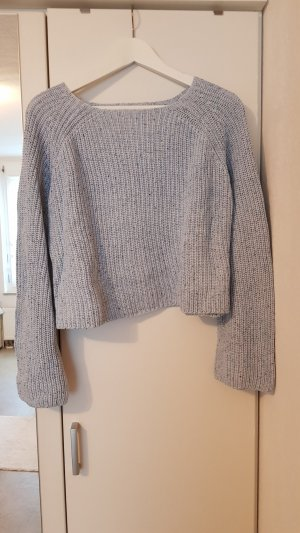 H&M Knitted Sweater pale blue
