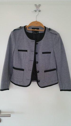 Kurzer grauer Blazer von H&M
