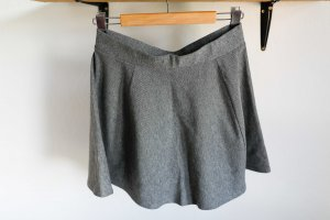Pimkie Flared Skirt dark grey mixture fibre