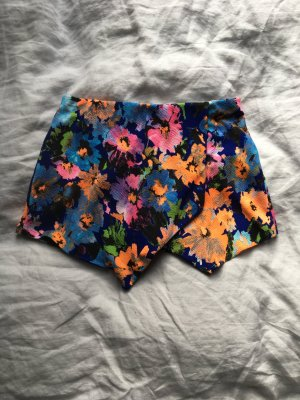 Gonna culotte multicolore