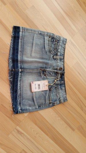 kurzer Jeans Rock neu