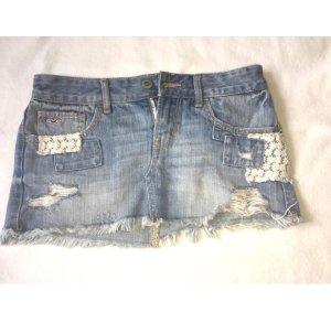 Kurzer Jeans Rock von Hollister