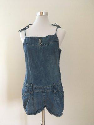 Mymo Jeans met bovenstuk azuur Katoen