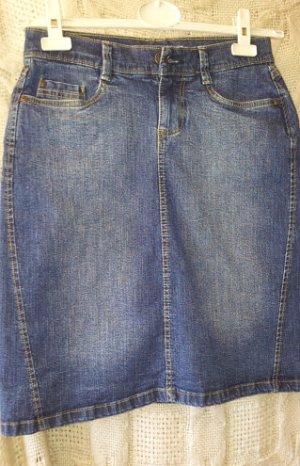 kurzer Jeansrock, stretchig, Gr. 38