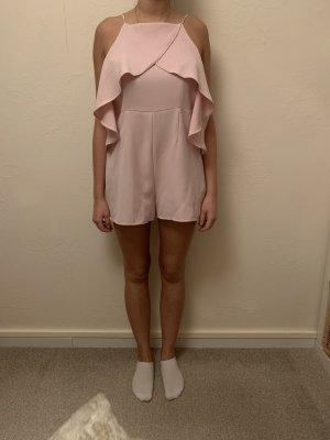 Amisu Tailleur pantalone rosa