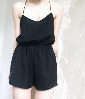 Kurzer Jumpsuit schwarz von Glamorous