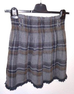 Zara Basic Gonna di lana multicolore