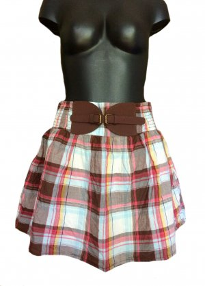 Tally Weijl Flared Skirt multicolored cotton