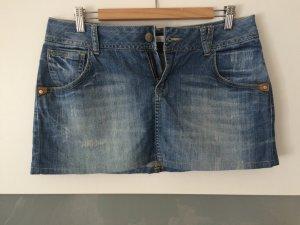 kurzer, lockerer Jeans Rock