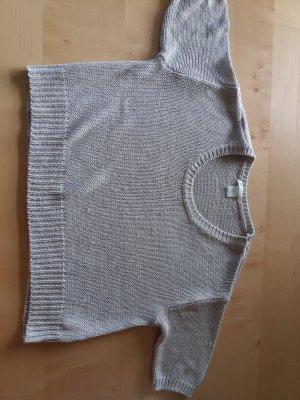 kurzer lockerer pullover