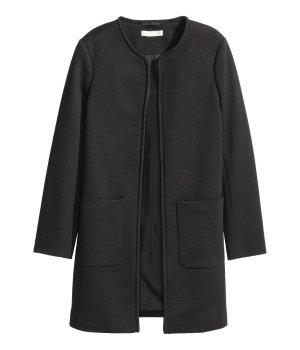 Kurzer Mantel schwarz von H&M NEU