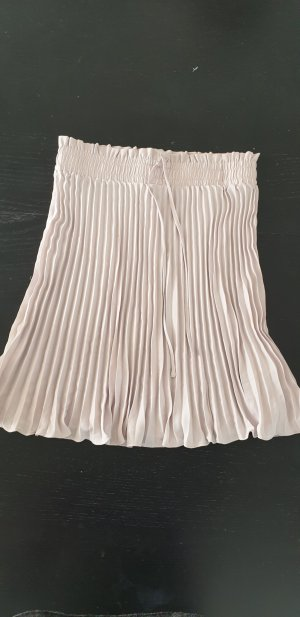 H&M Pleated Skirt pink-light pink