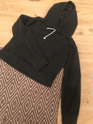 Jersey con capucha gris antracita-gris oscuro