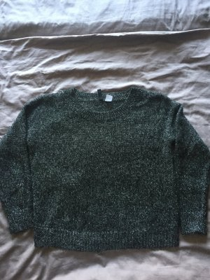 H&M Divided Crewneck Sweater anthracite polyester