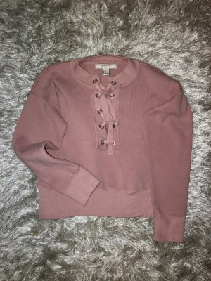 Forever 21 Knitted Sweater rose-gold-coloured