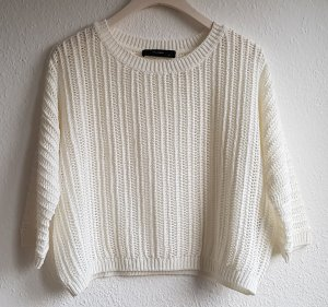 Hallhuber Pullover all'uncinetto bianco-bianco sporco Poliestere