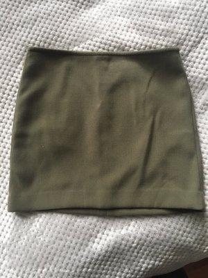 Mango Suit Minifalda caqui