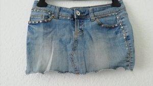 Amisu Gonna di jeans azzurro