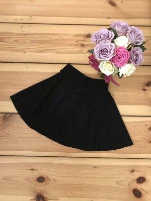 H&M Divided Flared Skirt black