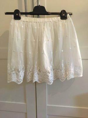 Benetton Miniskirt white