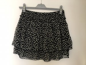 Broadway Flounce Skirt black-white