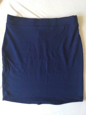 H&M Divided Stretch rok blauw-donkerblauw Polyester