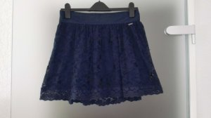 Hollister Kanten rok donkerblauw