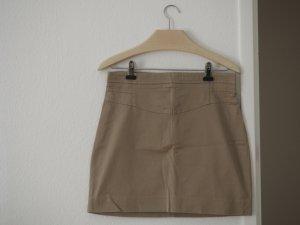 Zara Basic Mini rok beige