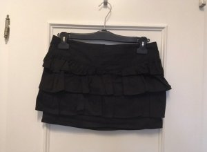 Zara Flounce Skirt black